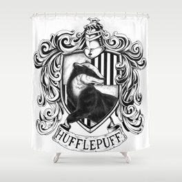Hufflepuff Shower Curtain