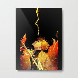 Zenitsu Metal Print