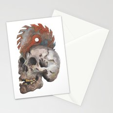 Inked up Skull Stationery Cards