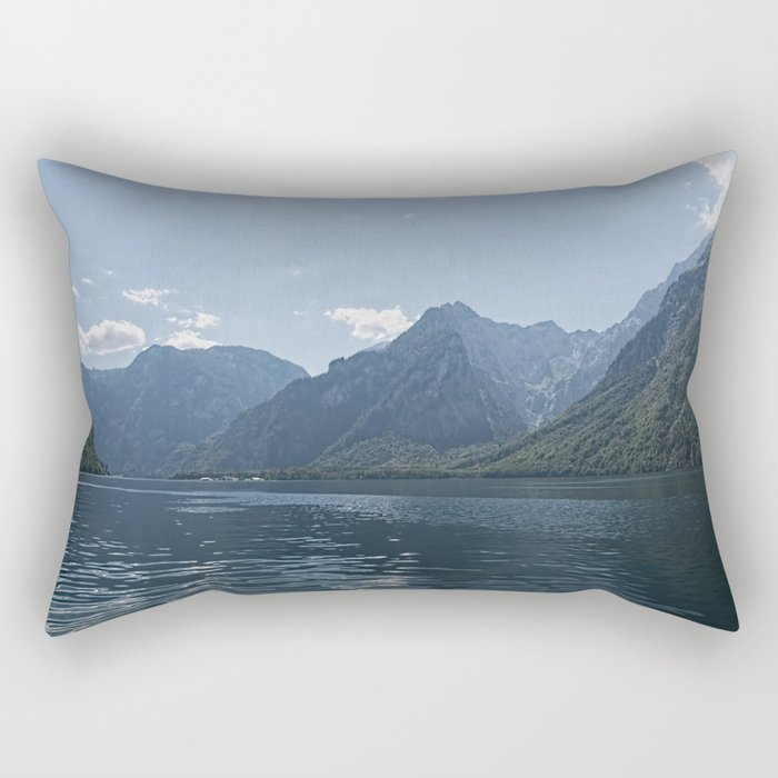 Bavaria - Koenigssee Lake Summer Alps Rectangular Pillow
