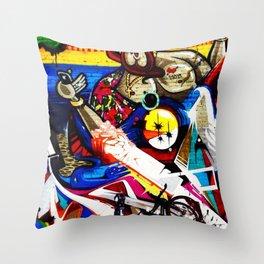 Hipster Jesus  Throw Pillow