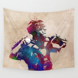 Baseball player 1 #baseball #sport Wall Tapestry