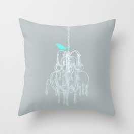 Pretty Classy Bird Throw Pillow