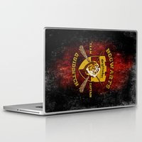 quidditch Laptop & iPad Skins featuring Gryffindor lion quidditch team captain iPhone 4 4s 5 5c, ipod, ipad, pillow case, tshirt and mugs by Three Second
