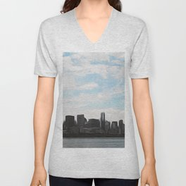 City Swept Unisex V-Neck