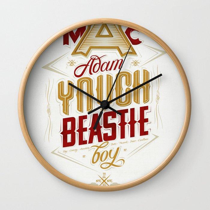 ∞ Adam Yauch • No way! I'm a Beastie Boy ∞ Wall Clock