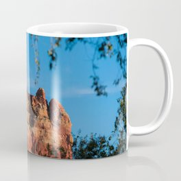 Rearing Red Rock Coffee Mug