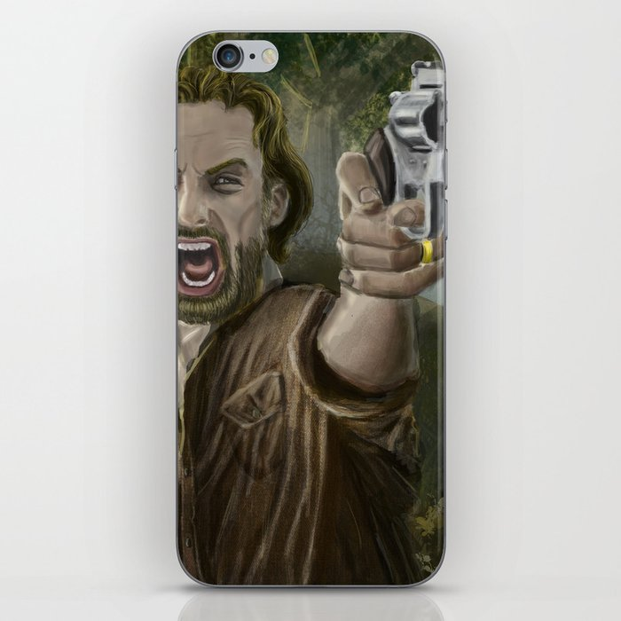 Rick Grimes iPhone Skin