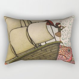 your chances are 50/50 Rectangular Pillow