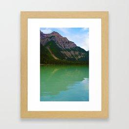Kinney Lake in Mount Robson Provincial Park, British Columbia Framed Art Print