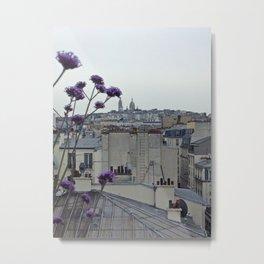 Sacré-Cœur from the roof Metal Print