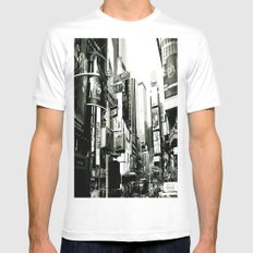 WHITEOUT : Life in the City Mens Fitted Tee MEDIUM White