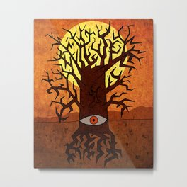 All-seeing tree Metal Print