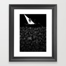 Fingerprint II Framed Art Print