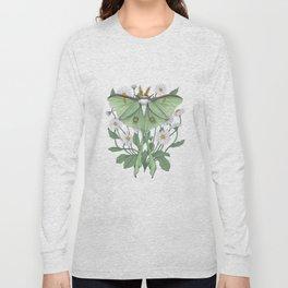 Metamorphosis - Luna Moth Long Sleeve T-shirt