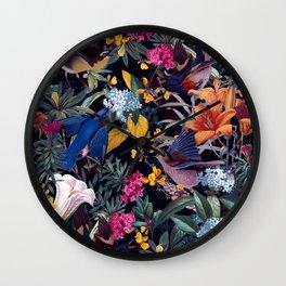 The Land of Birds  Wall Clock