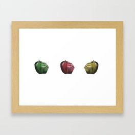 Perfect Halves One Framed Art Print