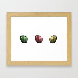 Perfect Halves One Framed Art Print