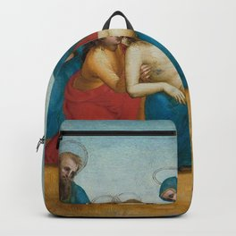 Raphael - Lamentation over the Dead Christ Backpack