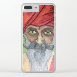 Wise Clear iPhone Case
