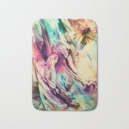 Angels in heaven Bath Mat