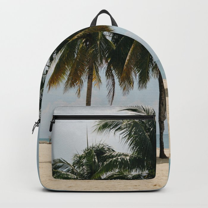 Beach Side Happy Place Backpack