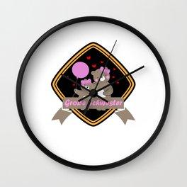 Kinder Große Schwester Geschenkidee Katze Kätzchen  Wall Clock