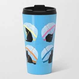 raining cats 'n cats Travel Mug