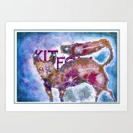 Kitfox Art Print