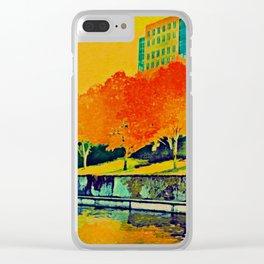 Brushy Creek in Autumn Clear iPhone Case