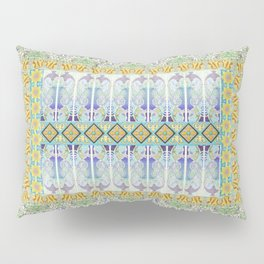 mosaic variation, nature, fishes, ocean, sea, stones, ceramic and much love.... Pillow Sham