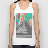 aztec Tank Tops featuring Aztec by Calepotts