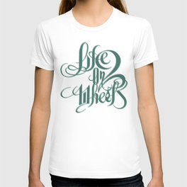 Life on two wheels T-shirt