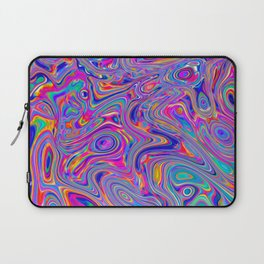 Neon melt Laptop Sleeve