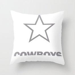 Cowboy Gift Wild Western Indian Django Throw Pillow