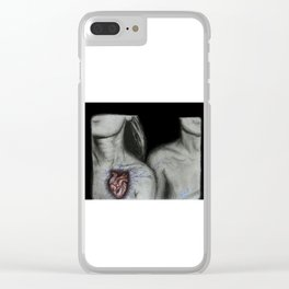 Electric Love Clear iPhone Case