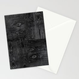 Old boards, old wood, aged wood Stationery Cards