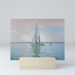 Ship 12-555 Mini Art Print