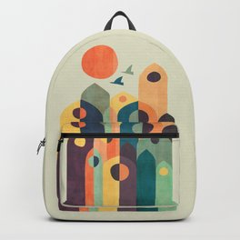 Ancient city Backpack