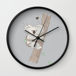 I Love You Too Wall Clock