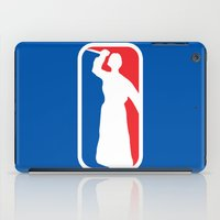 league iPad Cases featuring Psycho League by dutyfreak