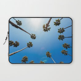Palm Trees in Los Angeles Laptop Sleeve