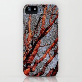 Trees Are Poems  iPhone Case