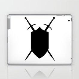 Crossed Swords Silhouette Laptop & iPad Skin
