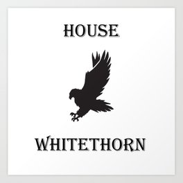 TOG House Whitethorn Art Print