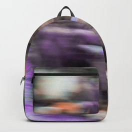 Fast in Flight - A Colorful Abstract Motion Blur Backpack