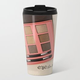 Eyeshadow Metal Travel Mug