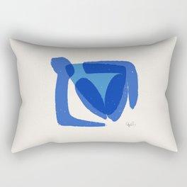 Bather 1 Rectangular Pillow
