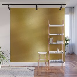 Pure Gold Print Wall Mural