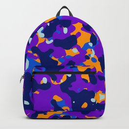 Abstract orgnaic pattern 14 Backpack